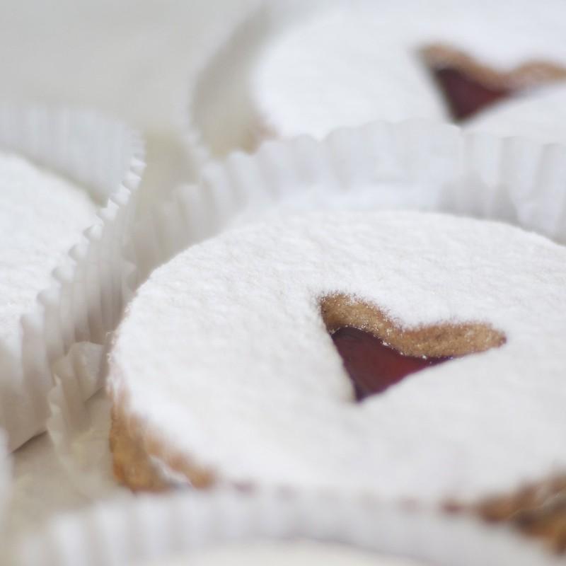 Heart Cookie at Yalaha Bakery